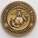 United States Marine Corps coin