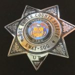 Box Elder Co Sheriff shiny swat badge