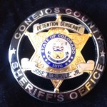Conejos CO Sheriff badge