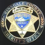 Hinsdale Co Sheriff badge