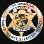 Logan County sheriff's badge