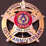 Randall Co Sheriff TX badge