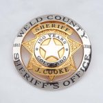 Weld County sheriff's badge
